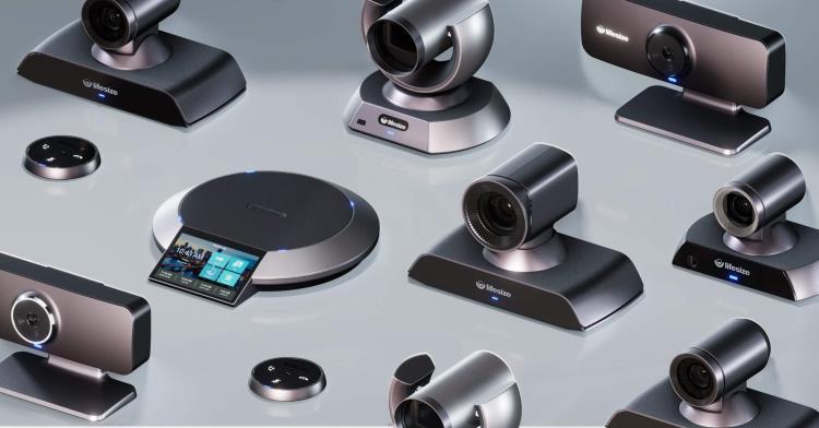 A bunch of webcams